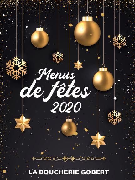 Notre menu de fin d'année